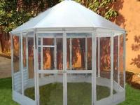Многоугольная теплица - бриллиант Вашего сада